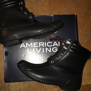 NWB American Living Rain Booties